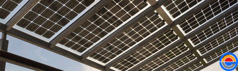 Montageconstructie zonnepanelen solarcarport
