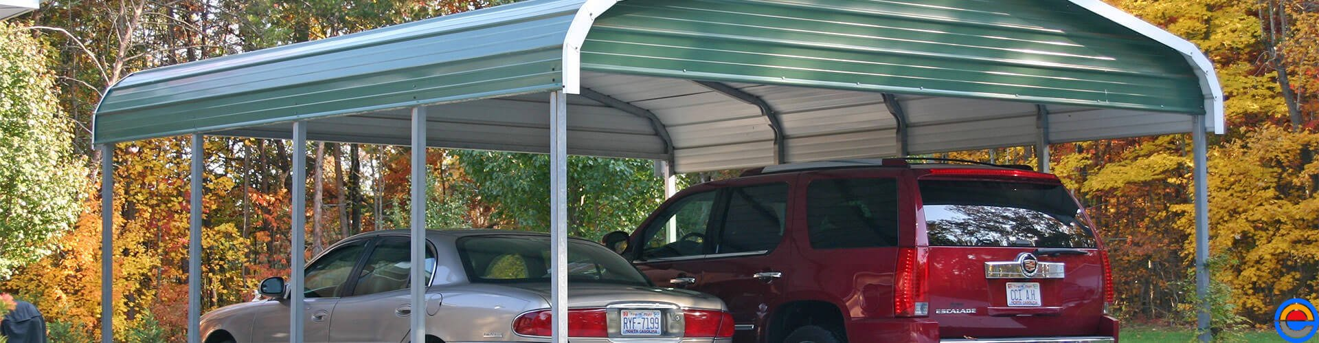 Amerikaanse aluminium overkapingen voor uw auto, camper, boot of caravan van de Carportbouwers