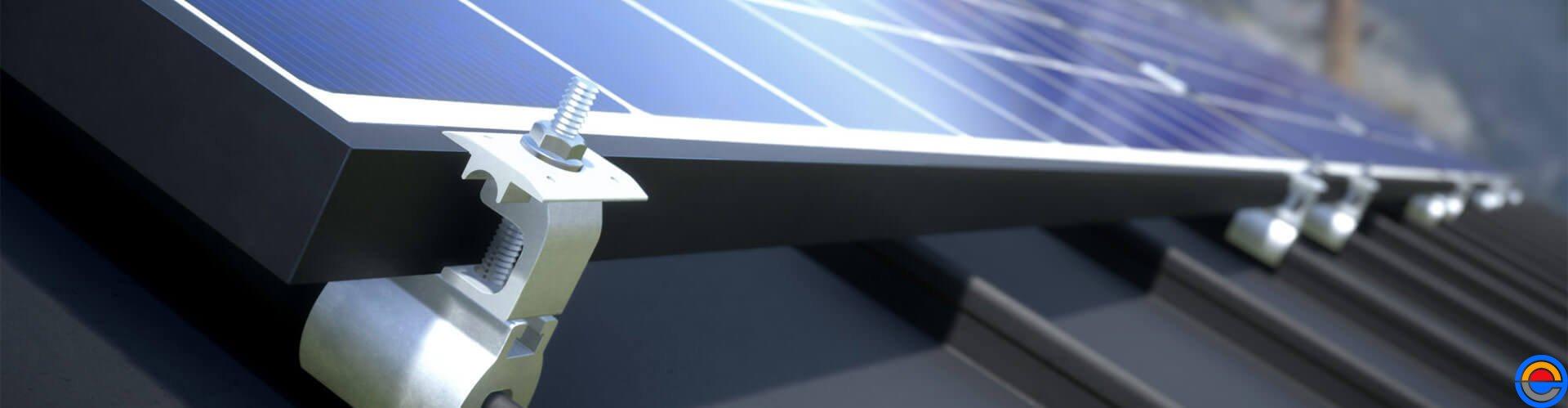 Montageconstructie systeem voor zonnepanelen voor uw solarcarport van de Carportbouwers